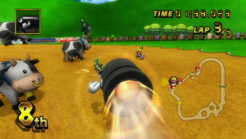 Mario Kart Wii: Bullet Bill