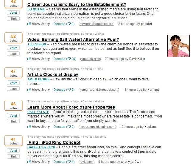 Blog Spam on Netscape