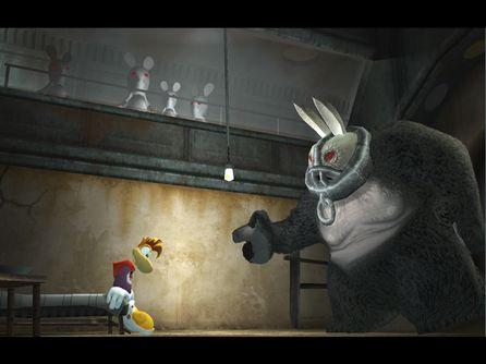 Rayman and the jailer