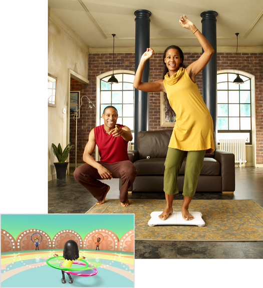 Wii Fit Power Hoop Twirls