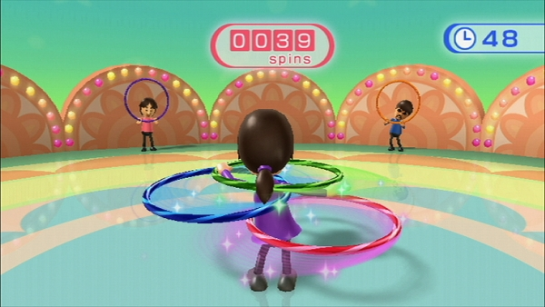 Wii Fit Hula Hoop Game