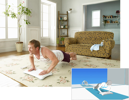 Wii Fit Push-ups