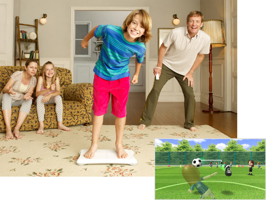 Wii Fit Soccer
