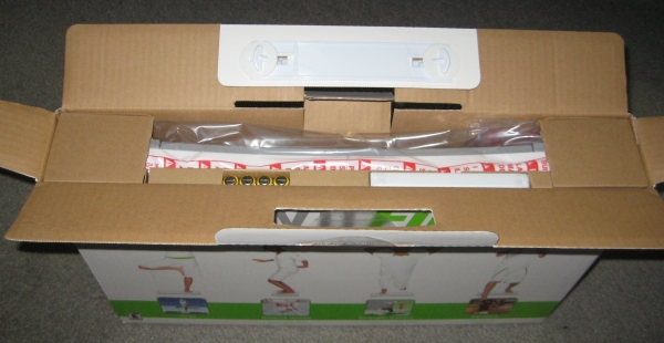 Unboxing the Wii Fit